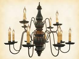 charleston wood chandelier