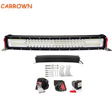 Origin 8 Light Bar Carrown 384w Quad Row 22 Inch Curved Off Road Led Light Bar