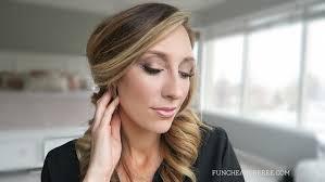 date night makeup tutorial subtle golden smokey eye yes please