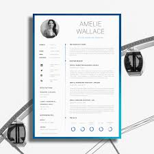 Creative Resume Sample 100 Awesome Examples of Creative CVs Resumes Guru 7