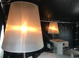 Staande Design Lamp Met Kap Wit