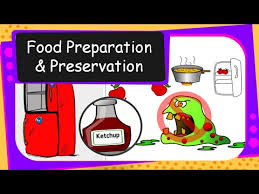Food Preservation Chart Science Our Food Food Preparation And Preservation English