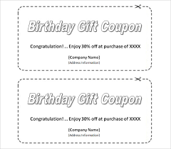 28 Homemade Coupon Templates Free Sample Example Format