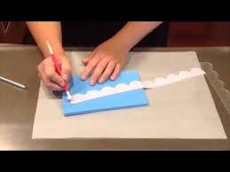 Scallop Templates Video Tutorial Scallop Acrylic Templates Set Of 3 Youtube