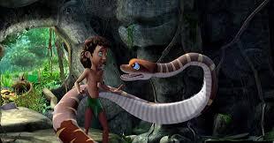mowgli and kaa in the jungle book tv series 4 by swedishhero94