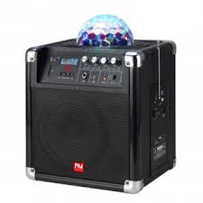 sound system battery. nutek bluetooth portable powered sound system with rechargeable battery party shaker