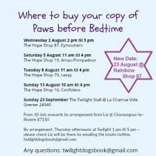 if you would like to this book or show your support for twilight please get in touch with them either as above or on the links below