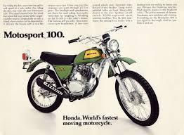 vintage honda motorcycle ads. httpsplusgooglecomjohnpruittmotorcompanymurrayville 1972 honda sl100 vintage motorcycle ads