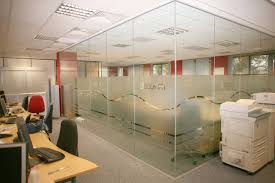 office glass walls. clear office glass partitions in uk walls
