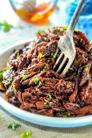 best ever slow cooker honey balsamic