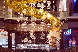 the lucky dragon hotel unveils glass dragon chandelier