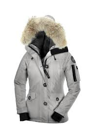 Womens Montebello Parka Steel Canada Goose clearance