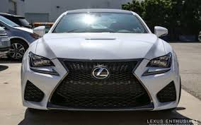 lexus rc f white interior. an ultra white lexus rc f has been delivered to hq in california and my friend ryan from kaizen factor managed get a nice collection of exterior rc interior