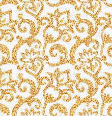 Gold Pattern Impressive Gold Pattern Background Golden Skin Texture Flowers PNG And PSD