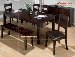 mẫu bàn ghế ăn bằng gỗ đẹp