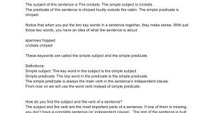 Simple predicate - Google Docs
