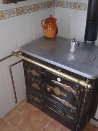 HERGOM TBN 7 Leña Cocina AbiertaCocinas Calefactoras De Lea Precios