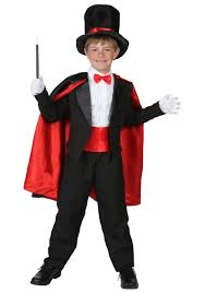 Teen boy magicians costume