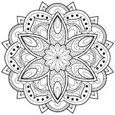 Mandala Coloring Pages Printable Mandala Coloring Pages Printable