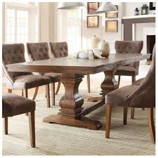 Dining Room Chairs Restoration Hardware Tufted Back Dining Room Chairs 2 Lacey Medium Brown Wood