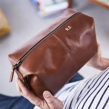 10 groom gifts to surprise your man with on your wedding day mens leather wash bag