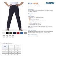 43 Explicit Gildan Sweatpants Sizing Chart