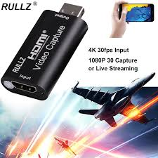 Original <b>Rullz 4K</b> HDMI <b>Capture</b> Card USB 1080P Game <b>Capture</b> ...