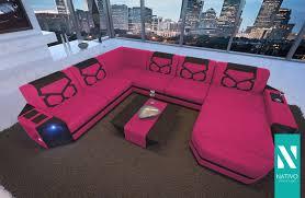 Nativo Designer Sofa Aventador Xxl Mit Led Beleuchtung