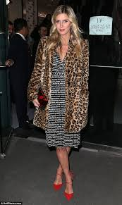 timeless look sported a vintage diane von furstenberg wrap dress to attend the