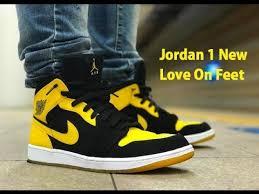 jordan new love. air jordan 1 retro mid new love 2017 unboxing \u0026 on feet | lovelybest.com video a