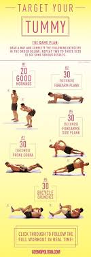 Stomach Exercise Chart Mens Fitness Mens Abs Workout 10 Charts Lifestyle By Ps