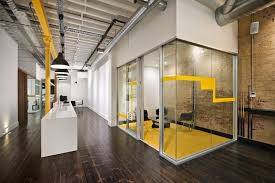office interior wall colors gorgeous. Fine Colors Office U0026 Workspace Gorgeous Workplace Design That Applying Dark Wooden  Flooring Alsotransparent Glass Wall And Throughout Interior Colors T