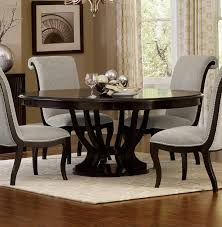 alluring homelegance savion round oval dining table with leaf espresso