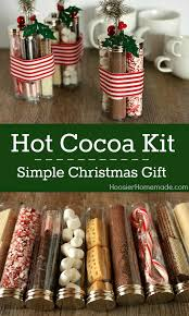 Simple Christmas Gift Hot Cocoa Kit  Simple Diy DIY Christmas Chocolate For Christmas Gifts