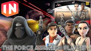 The Force Awakens Gets Disney Infinity 3 0 Playset