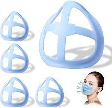 [5 PCS]<b>3D</b> Face Bracket for Mask,<b>Face Mask Inner</b> Support Bracket ...