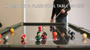 Nottage Design Pool Table Price A Glass Pool Table With A Catch Core77