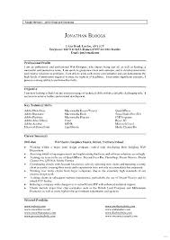 Resume Profile Section Examples Pay Research Paper Homework Help ...