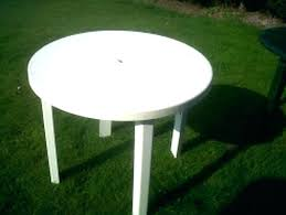round green plastic garden table white plastic garden furniture appealing plastic round patio table chairs and