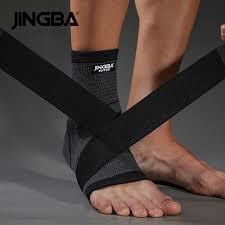 <b>JINGBA SUPPORT</b> 1PCS 3D Nylon Bandage Ankle <b>Support</b> ...