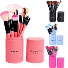 ihambing ang pinakabagong makeup brushes eye shadow foundation eyeliner powder contour concealer lip bevel eyebrow brush set cylinder make up tools pink