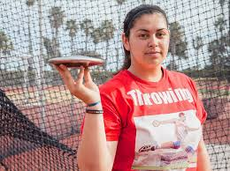 Record-setting freshman track star dominates throwing events – The ...