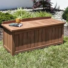 outdoor cushion storage deck box plans patio bench seat diy waterproof outdoor cushion storage box elegant