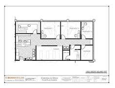 500 sqft office design. Chiropractic Office Design Layout Plan With Expansion 1820 Gross Sq Ft Http Set 500 Sqft