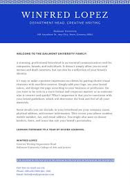 Blue With Line Welcome Letter To Parents Templates By Canva