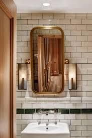 public bathroom mirror. Nightingale-by-david-hawksworth | Studio Munge. Restaurant BathroomPublic BathroomsBathroom MirrorsDesign Public Bathroom Mirror