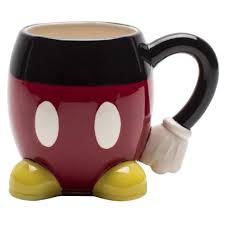 unique shaped coffee mugs. Plain Coffee Storage Appealing Mickey Mouse Black Red Ceramic Unique Coffee Mug Hand Shaped  Hold Yellow Foot Base Suitable For Kids Birthday Gift Can  Mugs Q