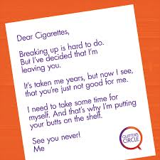 Write Your Way To Smoking Cessation | Quitter's Circle