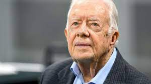 Former President Jimmy Carter requires ...