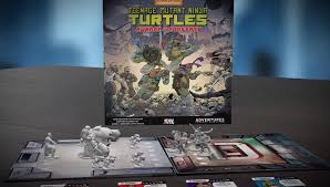 Teenage Mutant Ninja Turtles board games